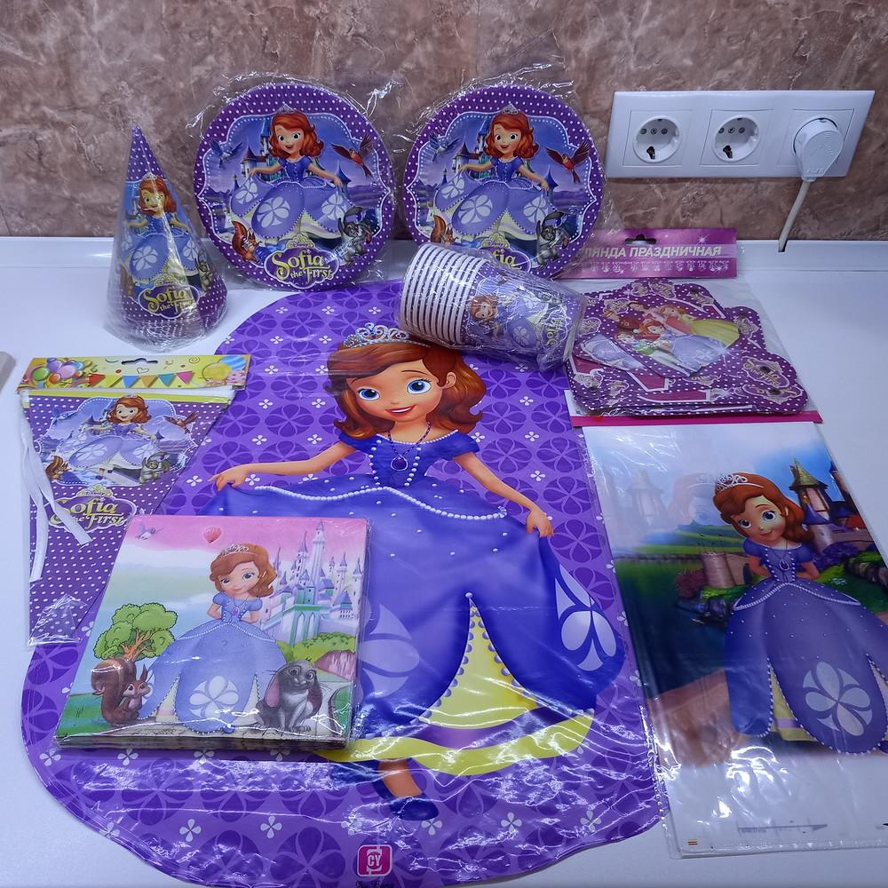 Принцесса софия набор детской посуды фото №1