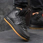 Ботинки мужские Nike Lunar air Force LF1 black