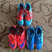 Бутси (копочки, бутсы) Adidas, Nike 32 - 33 р. оригінал