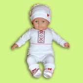 Костюм для малышей вышиванка нарядный, на крещение