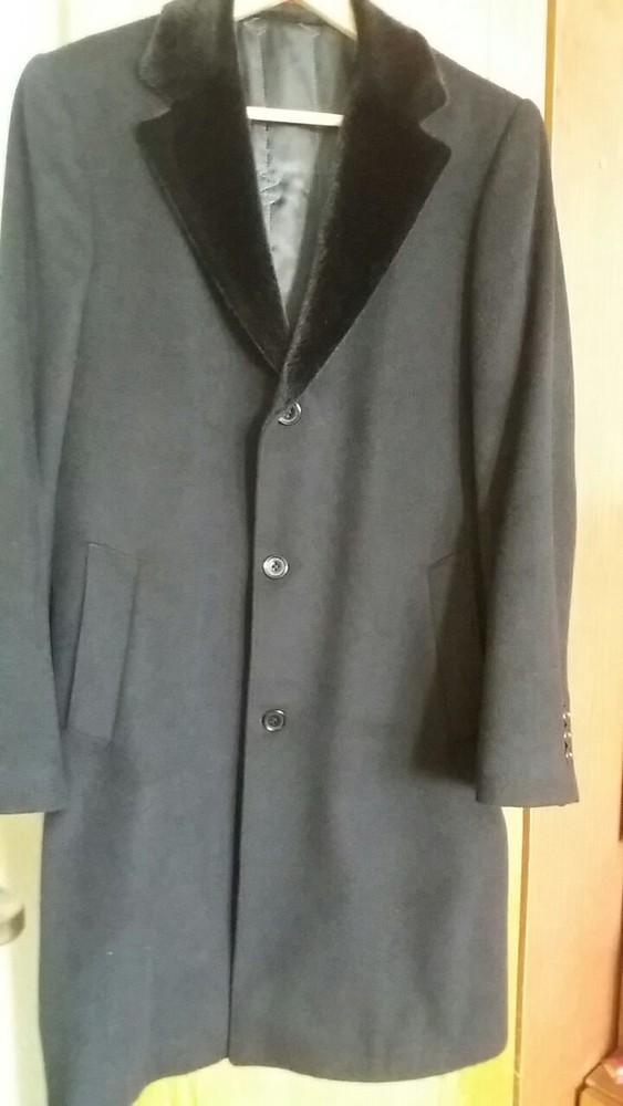 Пальто мужское кашемир. Р 44 фото №1