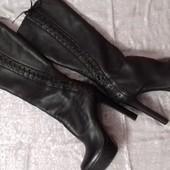 Стильные кожаные женские сапоги Ellenka р.37