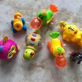 Заводные игрушки одним лотом Ферби инерционный (Цена за все)