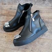 Последний 39 в наличии  Мега крутые женские демисезонные ботинки по супер цене