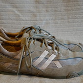 Легкие комбинированные кроссовки песочного цвета AM shoe company 46 р.