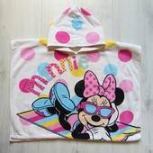 Яркое махровое полотенце для девочки. Disney. Размер one size. Состояние: идеальное