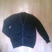 Фирменный шерстяной свитер, кофта L