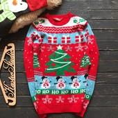 Мужской новогодний свитер р-р С