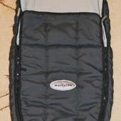 Спальный мешок, конверт, чехол на ножки в коляску Maclaren.
