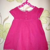 Вельветовое платье JoJo Maman Bebe 12-18 мес