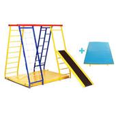 Sport Malysh maxi + Детский игровой спортивный комплекс, уголок для раннего развития малышей от 0 до