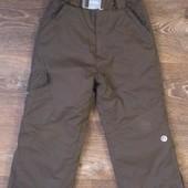 теплые лыжные термо-штаны, на 4-6 лет