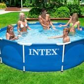 Каркасный круглый бассейн басейн  POOL Intex 28202