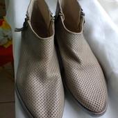 Ботиночки  из  натуральной  кожи от  Bata.