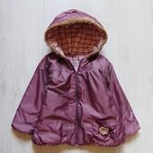 Демисезонная куртка для девочки. Brummi. Размер 1.5 года. Состояние: хорошее