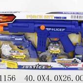 Полицейский набор винтовка, пистолет, наручники..., в коробке 40*4*26см
