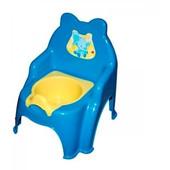 Горшок детский №2 голубой, арт. 013317-1