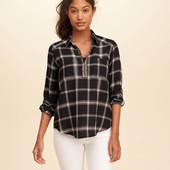 Новая клетчатая рубашка Hollister, размер М-Л. Новая. Оригинал