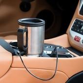 Кружка термос в машину автомобиль с подогревом от прикуривателя