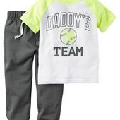 Комплект Carters спортивній костюм штаны футболка