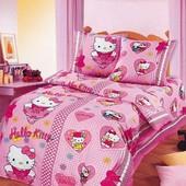 Комплект постельного белья Хелло Китти ,бязь гост