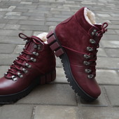 Женские кожаные ботинки Турция