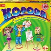 Развлекательная настольная игра Корова 12120023Р ранок креатив ranok creative  Корова - игра, котора