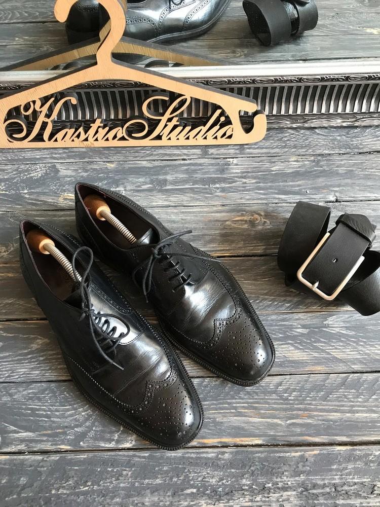 Крутые туфли-броги m&s р-р 42 фото №1