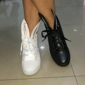 Ботинки с ушками 3 цвета Т748