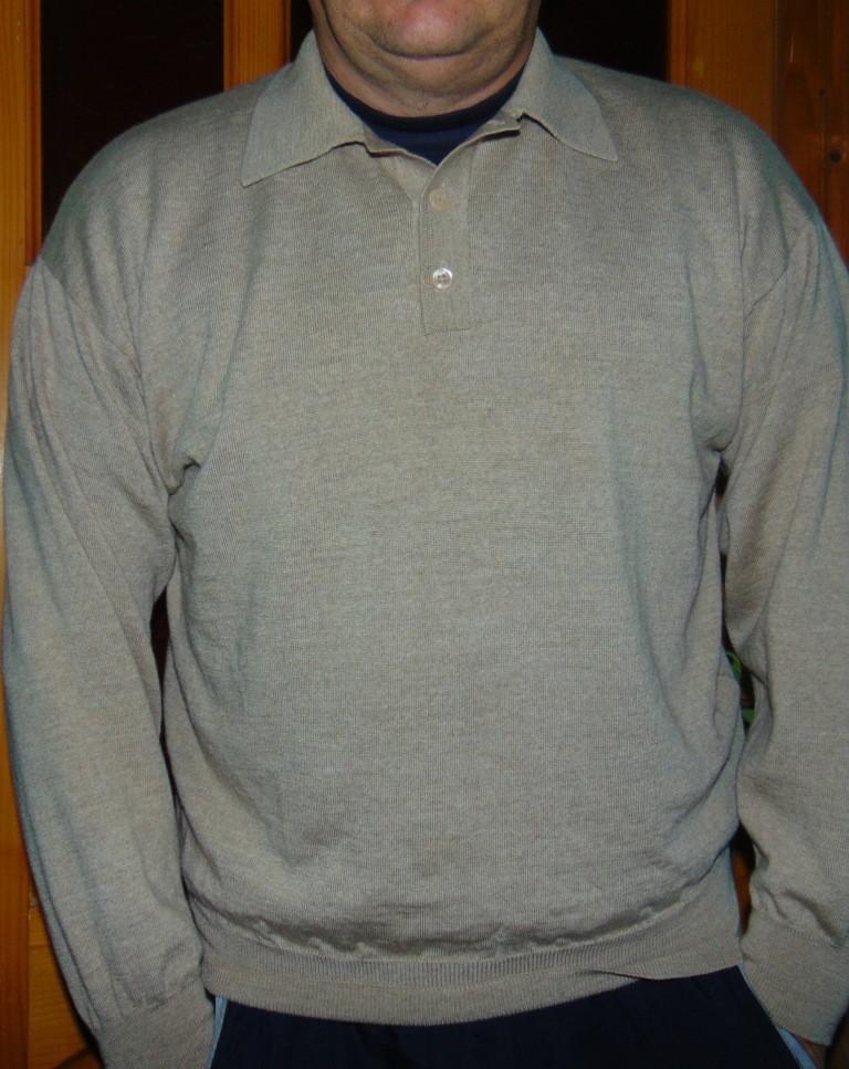 Фирменная стильная кофта свитр полувер Barisal.м-л . фото №1