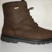 Немецкие кожаные ботинки 41 размер.