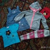 Пакет одежды на девочку 2-3 лет
