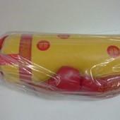 Боксерский набор груша перчатки 55*20см Full большой желтый данко тойс Danko toys  11523 Длина 55см