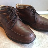 Ботинки Clarks размер 42 по стельке 28см, отл.сост.