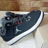 Кожаные зимние ботинки Джордан