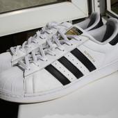 Мужские кроссовки Adidas Superstar 43 размер (оригинал) кожа