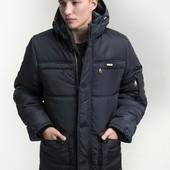 Мужская зимняя куртка полупальто