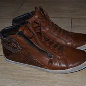 Gabor 40-40.5р ботинки ботильоны сникерсы кожаные. Оригинал.