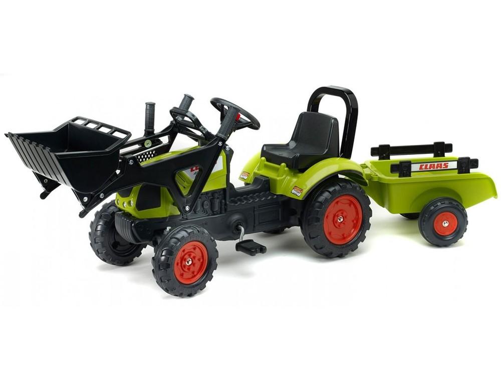 Детский трактор на педалях falk 2040 am фото №1