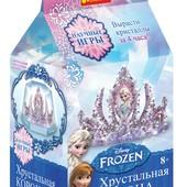 Корона в кристаллах Фрозен 12162031Р ранок креатив ranok creative  Научная игра, с помощью которой р