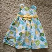 Нарядное платье на 2 годика Америка