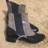 Ботінки,черевички лакові 36 р.фірми Andre