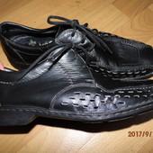 (i164)фирменные кожаные туфли 45 р Rieker
