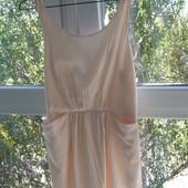 Amisu платье цвет пудра 40-размер