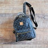 Качественный пошив! Стильный компактный городской женский рюкзак рюкзачок!