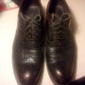 Туфли мужские Carnaby 45р.натуральная кожа модель инспектор легкая цена
