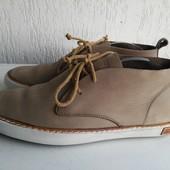 Кожаные туфли-кеды 41р. Blackstone. USA