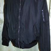 Брендовая стильная демисезонная курточка бомбер Atmosphere м-л .