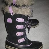 23 см стелька, канадские термо сапоги Sorel зимние сноубутсы, снегоступы ватерпруф