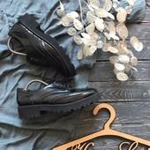 Стильные женские туфли броги River Island р-р 40